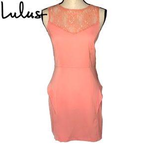 NWT LuLu's Kensie Knee Length Dress - 4